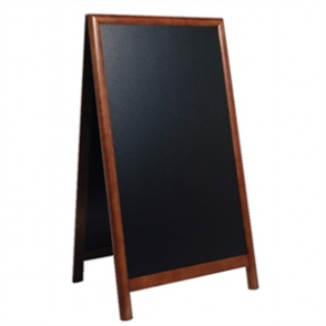 Sandwich A-Board Dark Wood - 680x1200mm