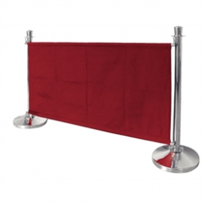Bolero Red Banner with St/St Fixings