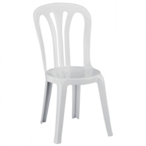 Resol Polypropylene White Multi Function Chair (Pack 6)
