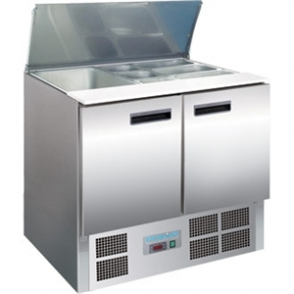 Polar Refrigerated 2 Door Saladette Counter (M)