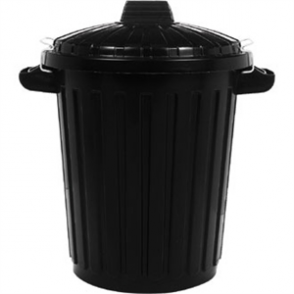 Rubbermaid Dustbin with Lid 70Ltr