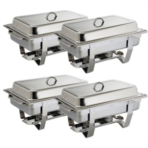 Milan Chafer Set Four Pack GN - 1/1