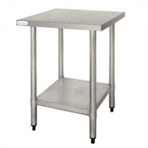 Vogue Stainless Steel Prep Table