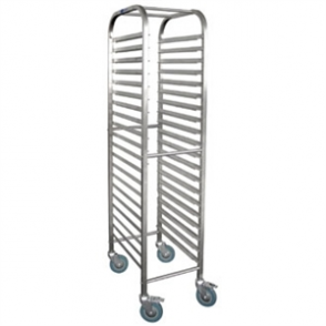 Vogue Gastronorm 1/1 Racking Trolley