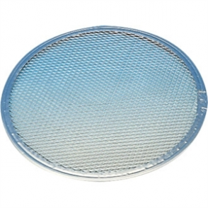 "Pizza Screen Flat base. 14"" diameter"