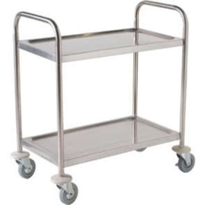 Vogue 2 Tier Clearing Trolley Small