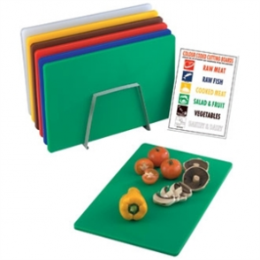 Hygiplas Low Density Chopping Board Set