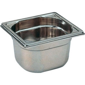 Bourgeat Stainless Steel 1/6 Gastronorm Pan 100mm