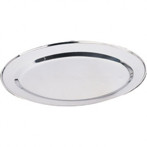 Oval Serving Flat 12""