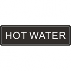 Airpot Hot Water Label