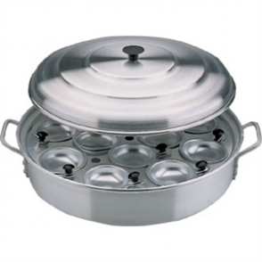 Vogue Aluminium Egg Poacher 350mm