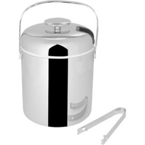 Ice Pail With Tongs 1.3ltr