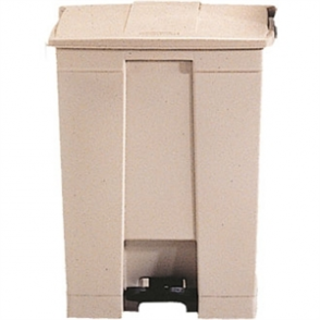 Rubbermaid Step-On Container Beige - 68Ltr