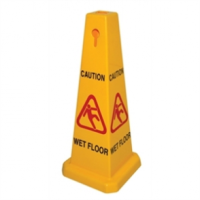 Cone Wet Floor Safety Sign