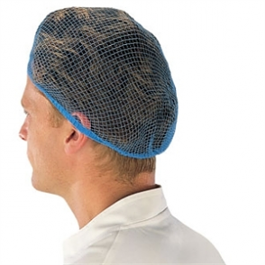 Hair Net Blue (50 per pack)