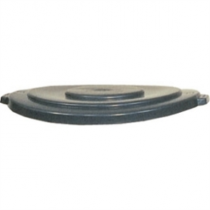 Rubbermaid Round Brute Lid Grey - 75.7Ltr