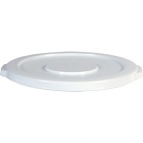 Rubbermaid Round Brute Lid White - 121.1Ltr