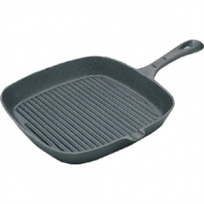Ribbed Skillet - Square 9''
