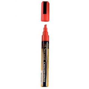 Red Chalkboard Marker Pen - 6mm Line