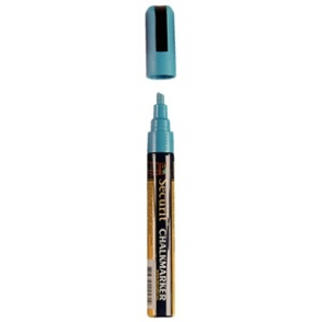 Blue Chalkboard Marker Pen - 6mm Line