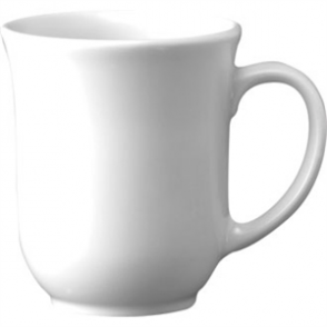White Elegant Mug 10oz (Box 24)