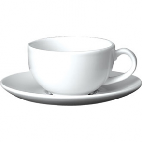 White Cappuccino Cup 7oz (Box 24)