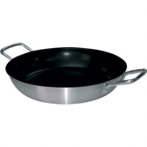 Vogue Paella Pan Aluminium Non-stick - 350x68mm