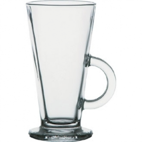 Conic Tall Glass Latte Mug Toughened - 285ml 10oz (Box 12)