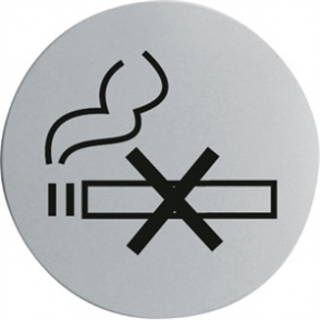 No Smoking Door Sign