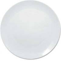 Olympia Whiteware Coupe Plate - 18cm 7 (Box 12)