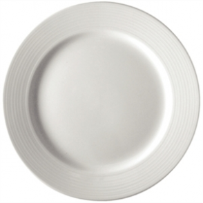 Olympia Linear Wide Rimmed Plate 150mm (Box 12)