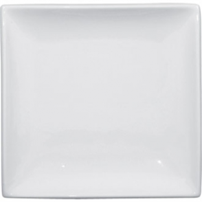 Olympia Whiteware Square Plate - 24cm 9 1/2 (Box 12)