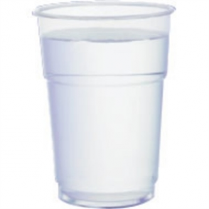 Disposable Tumbler - 284ml 0.5pint to Line (Box 1000)