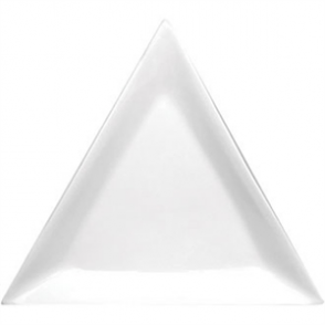 Olympia Whiteware Triangle Plate - 25.4cm 10 (Box 6)