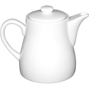 Olympia Whiteware Teapots 483ml 17oz (Box 4)