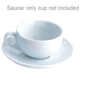 Cappuccino Saucer - fits the 412ml cappuccino cup U827 (Box 12)