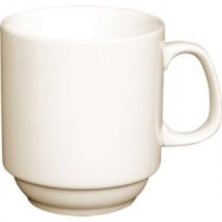 Ivory Stacking Mug 285ml 10oz (Box 12)