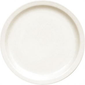 Olympia Ivory Narrow Rim Plate - 250mm 10 (Box 12)