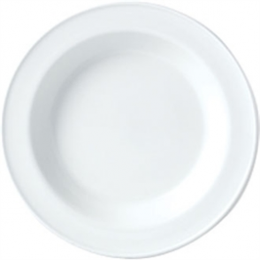 Steelite Simplicity White Soup Plates 215mm (Box 24)