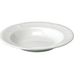 Buckingham White Pasta Plate - 11 (Box 12)