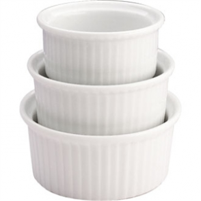 Olympia Whiteware Ramekin - 85mm 3 1/2 (Box 12)