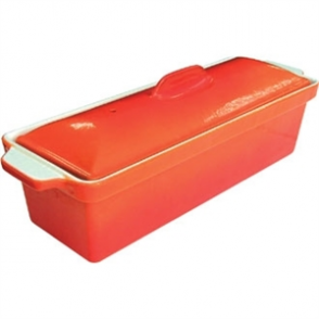 Vogue Orange Pate Terrine 1.3Ltr