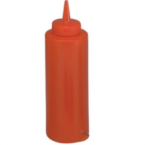 Vogue Red Squeeze Sauce Bottle 35oz