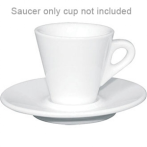 "Espresso Saucer -120(Ø)mm/ 4 3/4"". Fits cup Y111 (Box 12)"