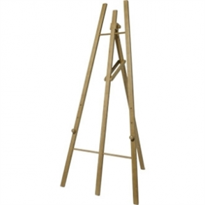 Teak Universal Easel 1650mm high.