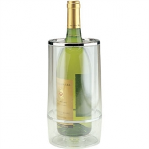 Wine Bottle Cooler - Clear Acrylic