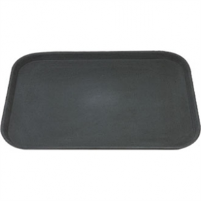 "Rectangular Anti-Slip Tray - Plastic (14"" x 18"")"