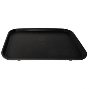 Kristallon Non-slip Tray Black 458 x 356mm