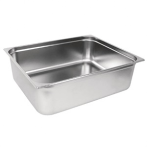 Vogue Stainless Steel GN 2/1 Pan 200mm