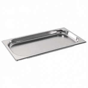 Vogue Stainless Steel GN 1/3 Pan 20mm